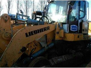 Spreader for LIEBHERR LR634