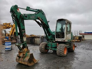 Cabin protection for LIEBHERR A308