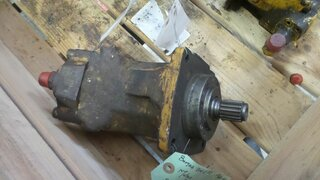 Advancement hydraulic motor for BOMAG BW217D