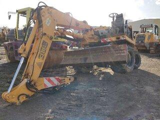 Excavator blade for LIEBHERR A308