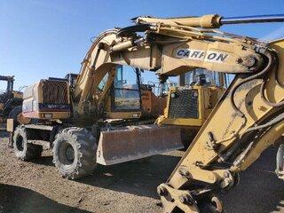 Excavator blade for CATERPILLAR M312