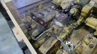 Hydraulic distributor for CATERPILLAR 963