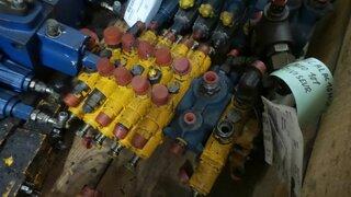 Hydraulic distributor for MECALAC 11CX