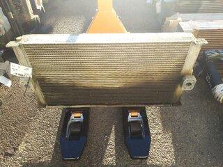 Oil cooler for LIEBHERR R924B