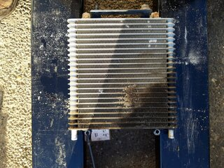 Oil cooler for YANMAR VIO45