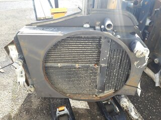 Oil cooler for MECALAC 12MTX