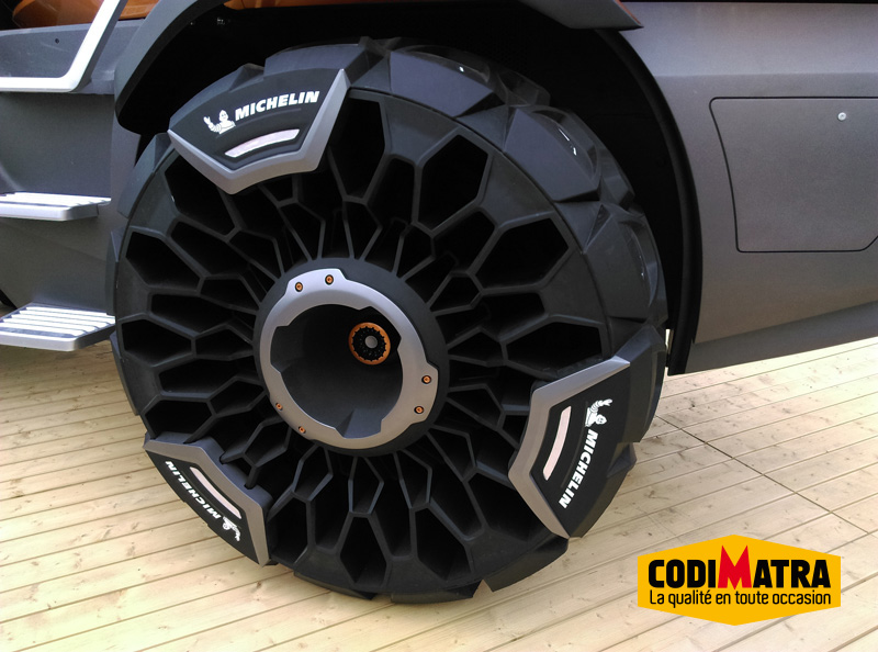 Airless tires Tweel made by Michelin