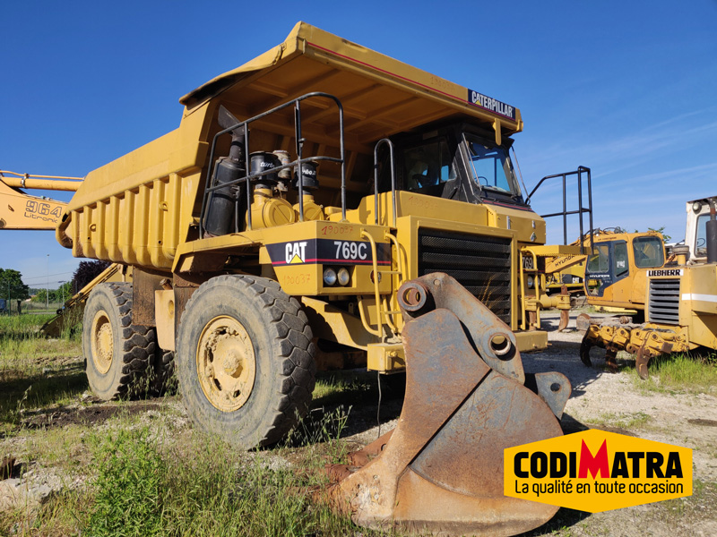 Dumper 769 C Caterpillar