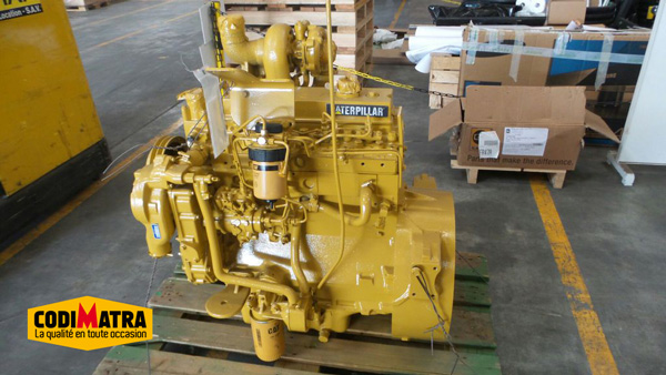 Engine of Caterpillar 428C